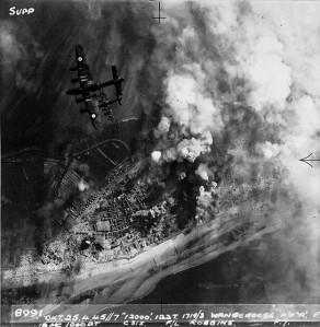 Aerial bombing
